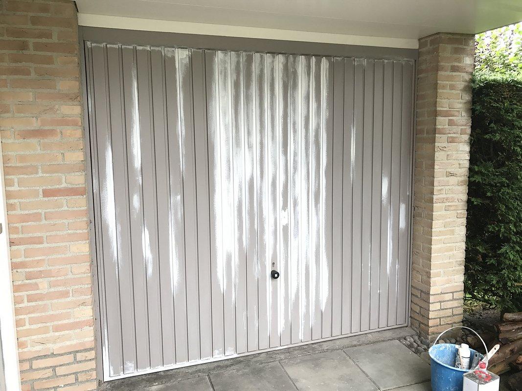 garagedeur voor