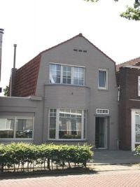 schilderwerk huis grijs